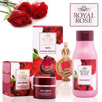 Royal Rose s růžovým a arganovým olejem
