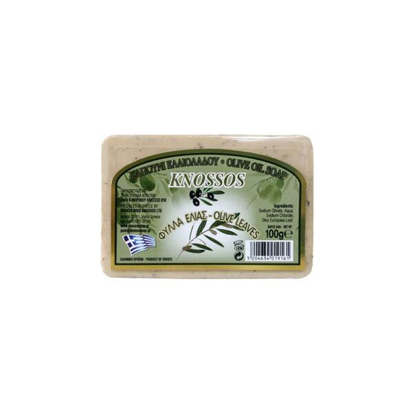 knossos tělové mýdlo olivové listy