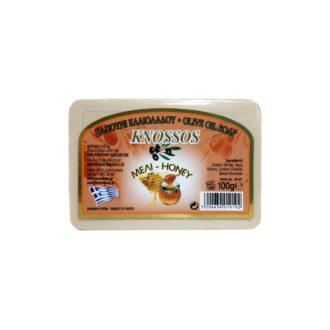 knossos tělové mýdlo s olivovým olejem medové