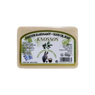 knossos tělové mýdlo s oslím mlékem