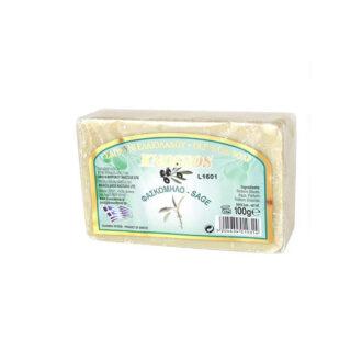 knossos řecké tělové mýdlo šalvěj olivy