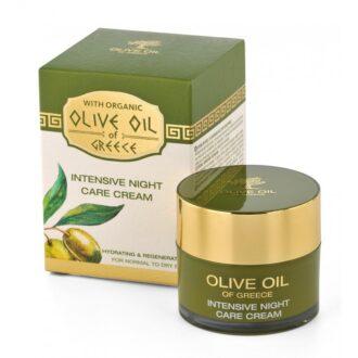 výživný noční krem olivový