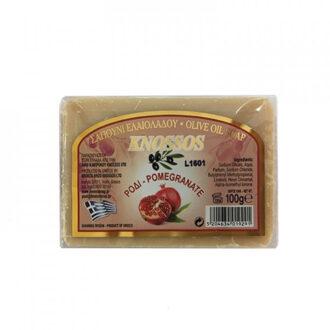 knossos tělové mýdlo olivové granátové jablko