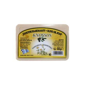 knossos řecké olivové mýdlo s heřmánkem