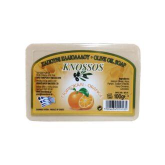 knossos tělové mýdlo olivové pomeranč