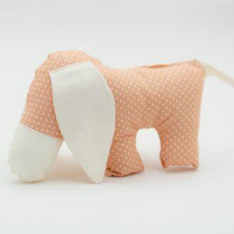 hračka pro děti textilní bio bavlna
