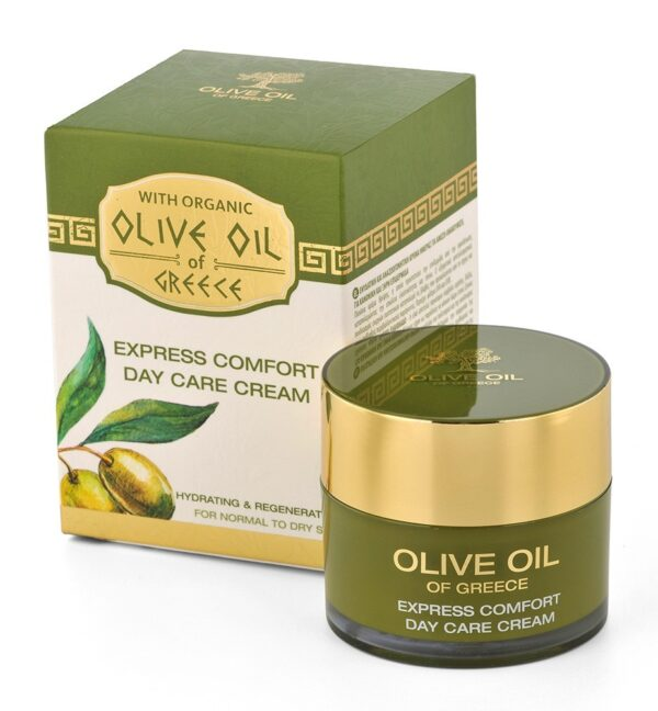 vyživující denní krém olivový